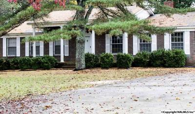 Marshall County, Jackson County Single Family Home For Sale: 1601 Bruce Road