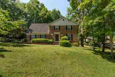 Huntsville Single Family Home For Sale: 1306 Huntsville Hills Drive