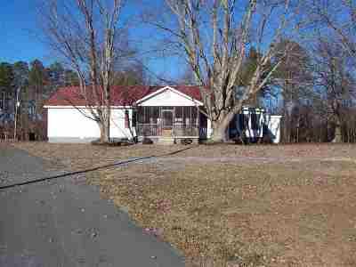 Marshall County, Jackson County Single Family Home For Sale: 1676 Lang Mountain Road