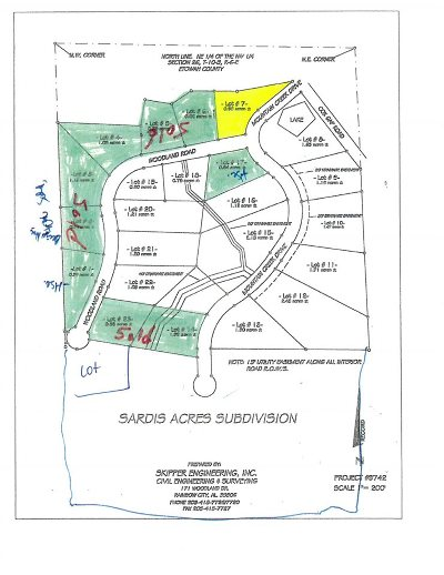 Boaz Residential Lots & Land For Sale: Lot 7 Mountain Creek Drive