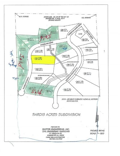 Boaz Residential Lots & Land For Sale: Lot 20 Woodland Road