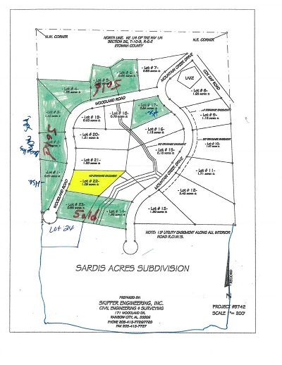 Boaz Residential Lots & Land For Sale: Lot 22 Woodland Road
