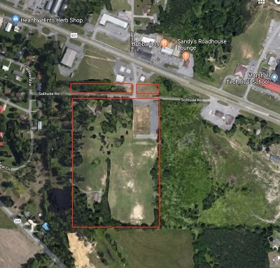 Commercial Lots & Land For Sale: Solitude Road