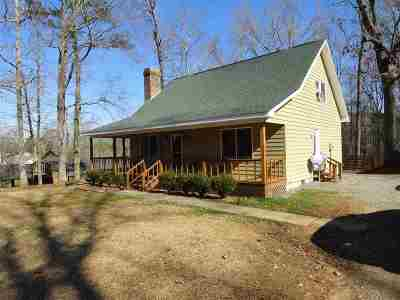 Scottsboro Single Family Home Contingent: 61 Payne Circle