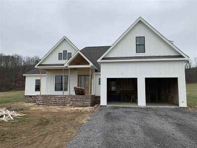 Marshall County, Jackson County Single Family Home For Sale: 4193 Browns Valley Road