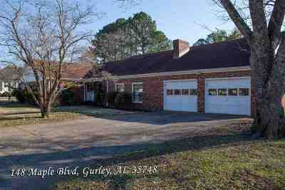 Madison County Single Family Home For Sale: 148 Maple Boulevard