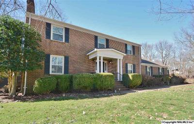 Single Family Home For Sale: 504 Monte Sano Blvd