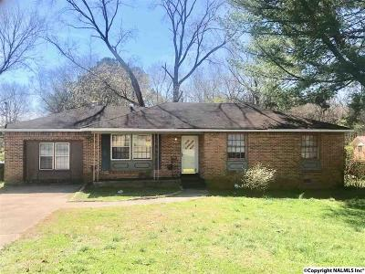 Huntsville Single Family Home Contingent: 2403 Stringfield Road
