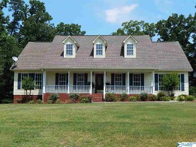Guntersville Single Family Home For Sale: 150 Cardinal Drive