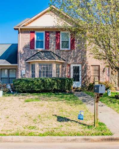 Decatur Townhouse For Sale: 2904 Frost Drive