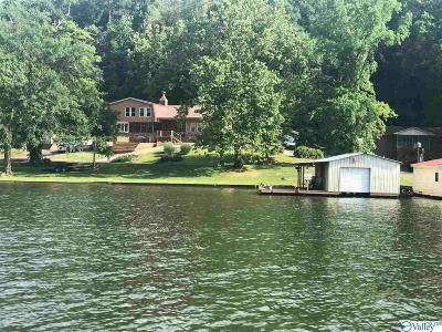 Guntersville Single Family Home For Sale: 4121 Hideaway Drive