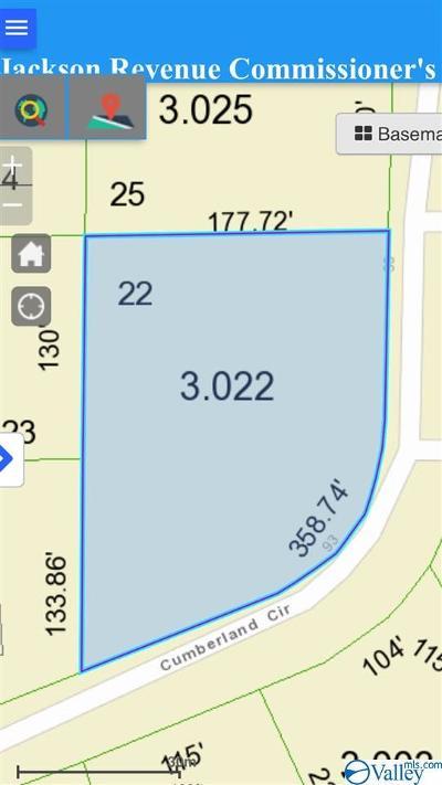 Scottsboro Residential Lots & Land For Sale: 22 Cumberland Circle