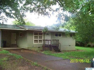 Marshall County, Jackson County Single Family Home For Sale: 606 Tupelo Pike