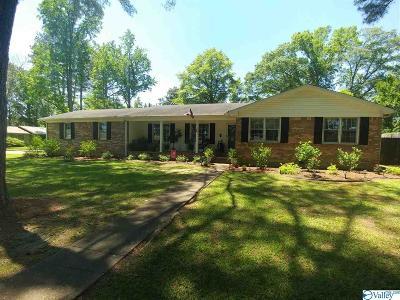 Hartselle Single Family Home For Sale: 716 Washington Circle