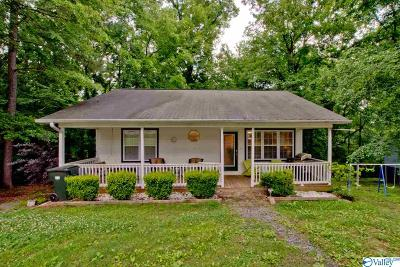 Guntersville Single Family Home For Sale: 2413 Luther Street