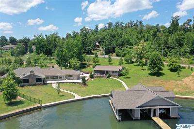 Madison County, Limestone County, Morgan County, Jackson County, Marshall County Single Family Home For Sale: 1314 Buck Island Drive