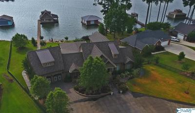Guntersville Single Family Home For Sale: 2000 Signal Point Lane