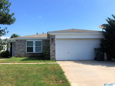 Meridianville Single Family Home Contingent: 143 Olympia Drive
