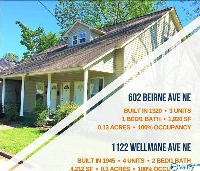 Huntsville Multi Family Home For Sale: 602 Beirne Avenue