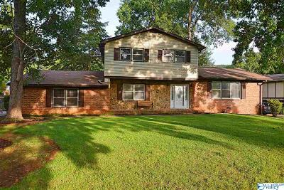 Huntsville Single Family Home For Sale: 7905 Double Tree Drive