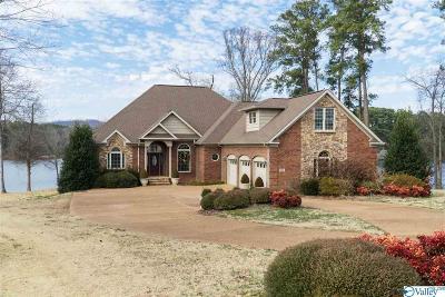 Marshall County, Jackson County Single Family Home For Sale: 1524 Peninsula Drive