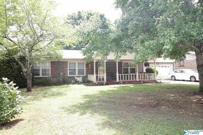 Meridianville Single Family Home For Sale: 228 Becky Drive