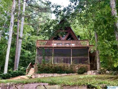 Guntersville Single Family Home For Sale: 4456 Leaning Beach Drive