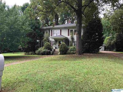 Gadsden AL Single Family Home For Sale: $500,000