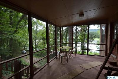 Guntersville Single Family Home For Sale: 354 Lucas Gap Road