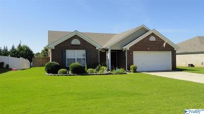 Meridianville Single Family Home For Sale: 112 Bellevue Drive