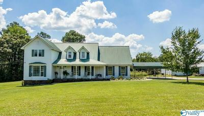 Henagar Single Family Home For Sale: 3683 County Road 134