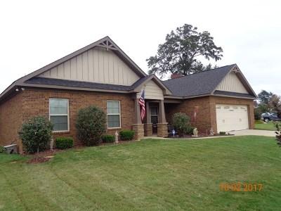 Phenix City Single Family Home For Sale: 1604 Hydrangea Dr