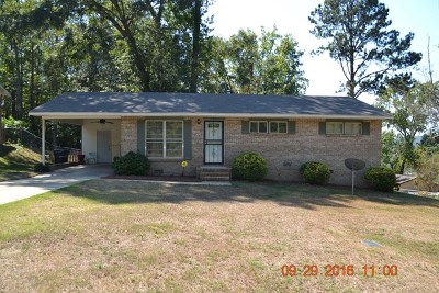 Phenix City AL Single Family Home For Sale: $76,900