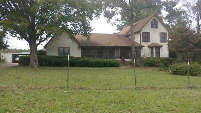 Salem Single Family Home For Sale: 1639 Lee Rd 279