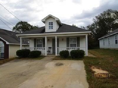 Phenix City AL Single Family Home For Sale: $52,500