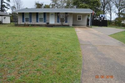 Phenix City AL Single Family Home For Sale: $85,000