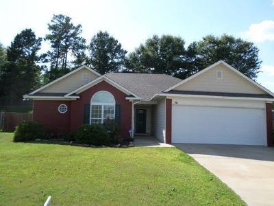 Phenix City AL Single Family Home For Sale: $135,300