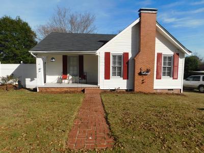 Phenix City AL Single Family Home For Sale: $98,000