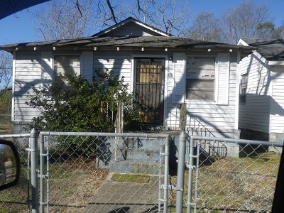 Phenix City AL Single Family Home For Sale: $15,000