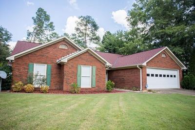 Phenix City AL Single Family Home For Sale: $168,000