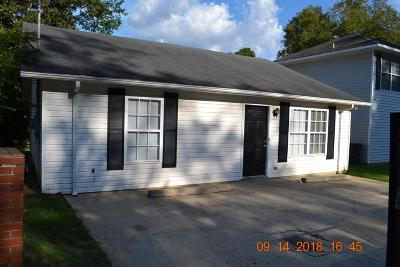 Phenix City AL Single Family Home For Sale: $78,000