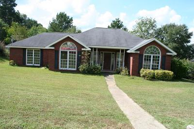 Phenix City AL Single Family Home For Sale: $116,300