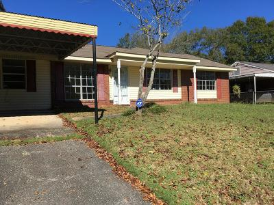 Phenix City AL Single Family Home For Sale: $95,000
