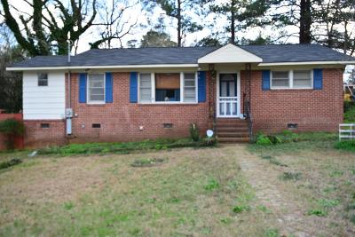 Phenix City AL Single Family Home For Sale: $68,900