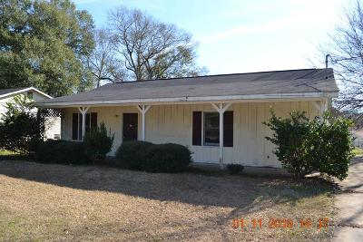 Phenix City AL Single Family Home For Sale: $39,900