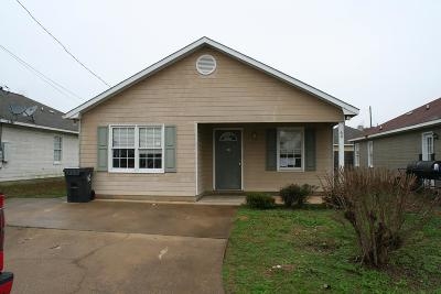 Phenix City AL Single Family Home For Sale: $54,000