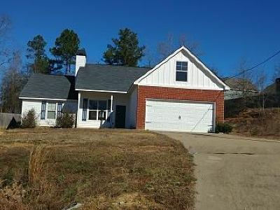 Phenix City AL Single Family Home For Sale: $87,500