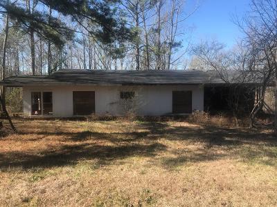 Salem Single Family Home For Sale: 1485 Lee Rd 281