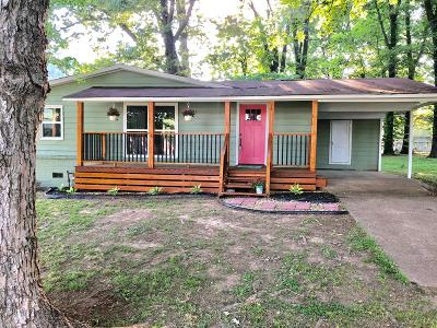 Muscle Shoals AL Single Family Home For Sale: $89,100