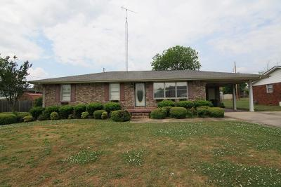 Muscle Shoals AL Single Family Home For Sale: $129,500